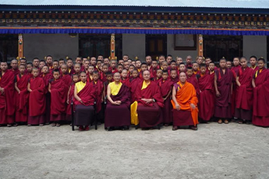 Nyingma Institute monks, Bhutan