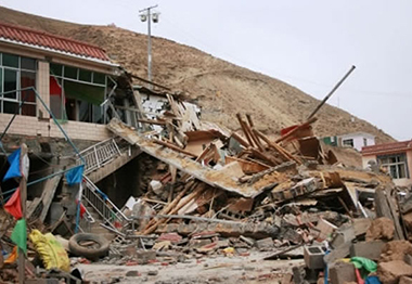 Devastation of Yushu Earthquake